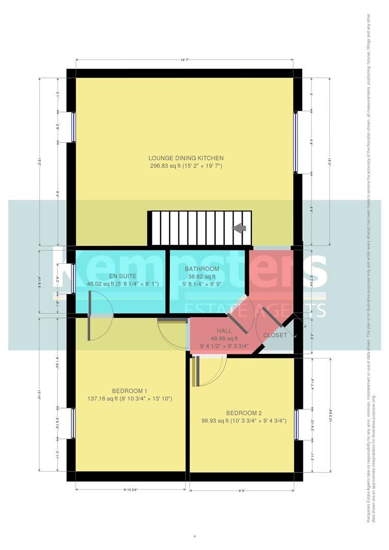 Floorplans Saxton Close Grays Kempsters