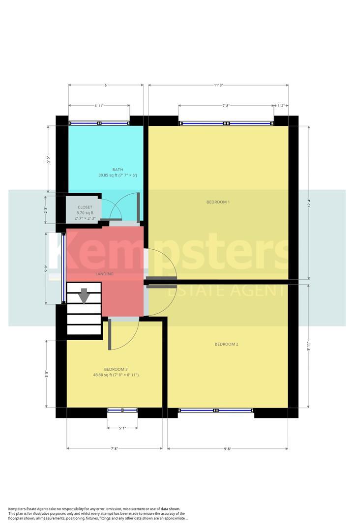 Floorplans Tyrrells Hall Close Little Thurrock Grays